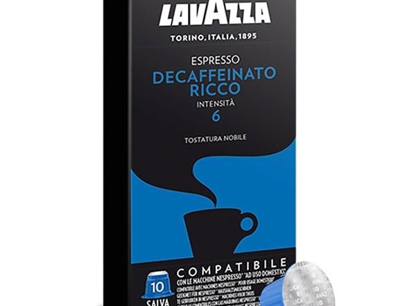 Decaffeinato Lavazza cups cafeinevrij