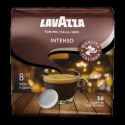 Lavazza - senseo compatible koffiepads - Intenso