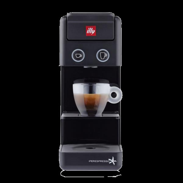 illy Y3 Espresso & Coffee Zwart - Iperespresso koffiemachine