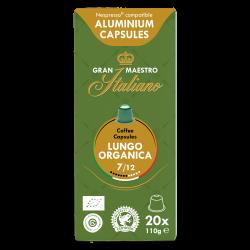 Gran Maestro Italiano - nespresso compatible - Lungo Organica (Organic)
