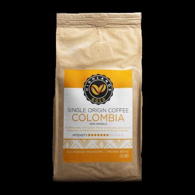 Highlands Gold - koffiebonen - Colombia (Organic)