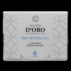 Celeste d'Oro - nespresso compatible - Decaffeinato lungo
